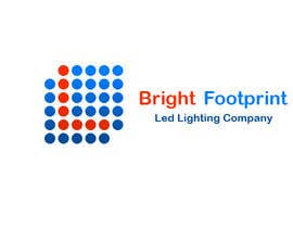 Nro 18 kilpailuun Design a Logo and website for Bright Footprint LED lighting company käyttäjältä armanchik