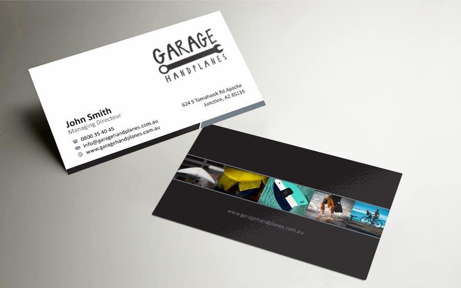 Bài tham dự cuộc thi #12 cho Design some Business Cards for Garage Handplanes