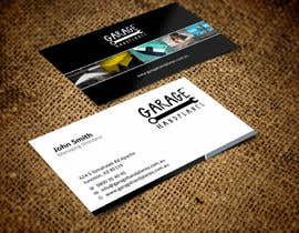 nº 35 pour Design some Business Cards for Garage Handplanes par ezesol