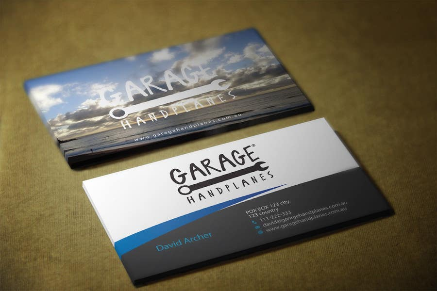 Bài tham dự cuộc thi #29 cho Design some Business Cards for Garage Handplanes