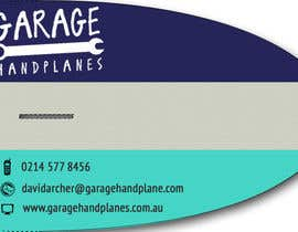 #10 para Design some Business Cards for Garage Handplanes por pvcdesigns