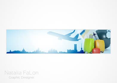 #122 for Travel website header banner redesign by NataliaFaLon