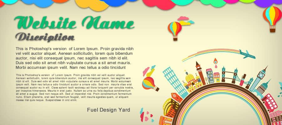 #71 for Travel website header banner redesign by fueldesignyard