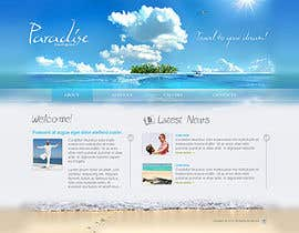#17 cho LAYOUT FOR  ONLINE TRAVEL AGENCY bởi rshalder90