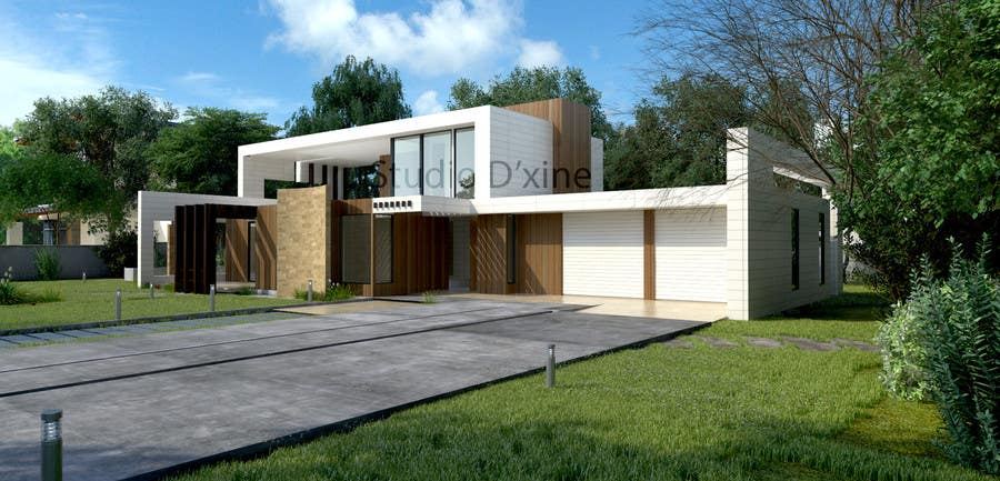 Contest Entry #9 For Exterior House Design U0026 3D Render