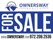 Contest Entry #9 for Ownersway real estate yard sign