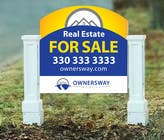 Contest Entry #20 for Ownersway real estate yard sign