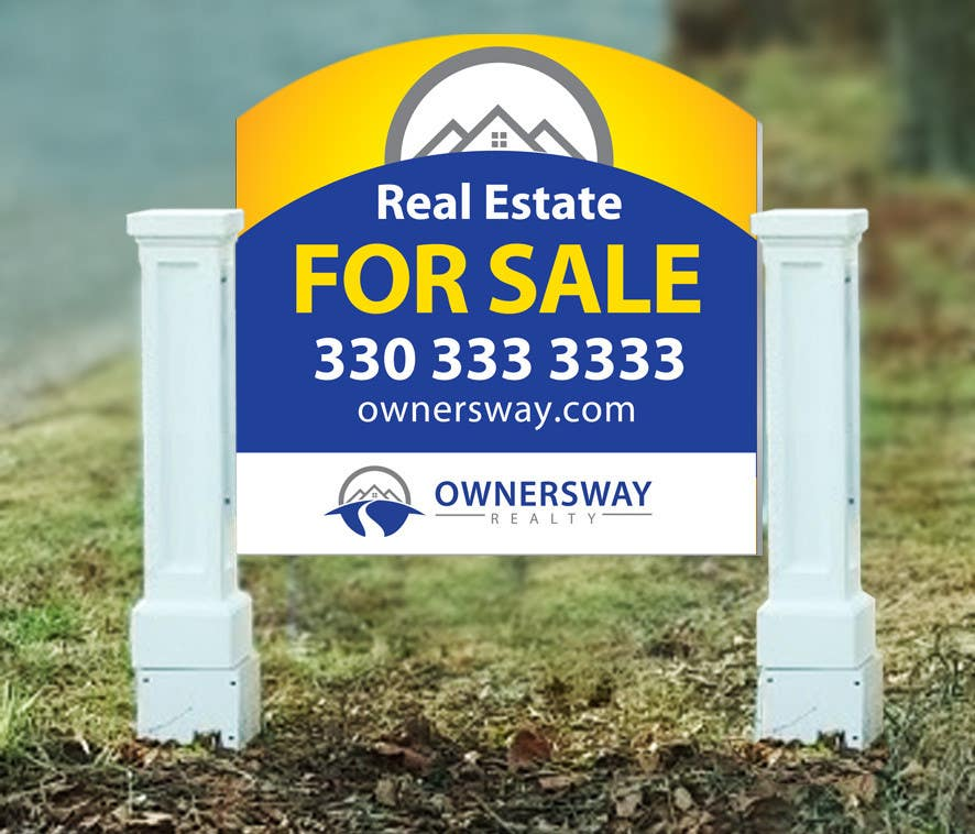 #20 for Ownersway real estate yard sign by NamalPriyakantha
