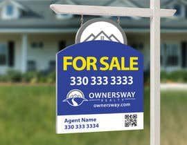 #41 for Ownersway real estate yard sign by NamalPriyakantha