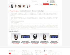 yaniprasetyo tarafından Mockup new E-commerce Home, Category & Product pages için no 4