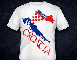 #17 para Design a Croatian fan T-shirt por Rhastel