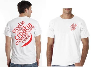 #28 para Design a Croatian fan T-shirt por eltorozzz