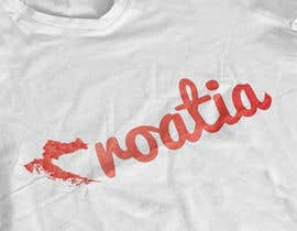 #39 for Design a Croatian fan T-shirt af MaynardDesign