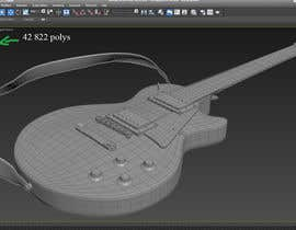 #12 for Autodesk Maya 3D Model an Epiphone Guitar af celmaicosmin