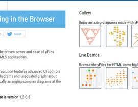noornada tarafından Find a Flash or Javascript library for interactive node-linking diagrams için no 37