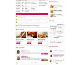 nº 8 pour Recipe Website par ProliSoft
