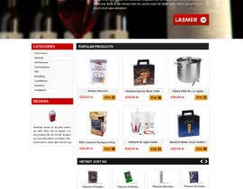 #16 for Design a Website Mockup for Magento e-shop af suryabeniwal