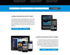 #58 for Design a Website Mockup for a Mobile Device Company by lysbuenavista09