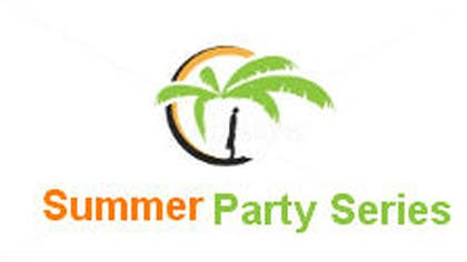 #10 para Summer Party Series Logo por cristinandrei
