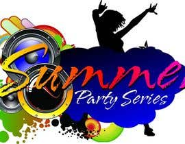 nº 26 pour Summer Party Series Logo par kasif20