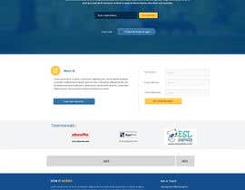 #8 for Design a Landing Page + Form - repost af imsaud