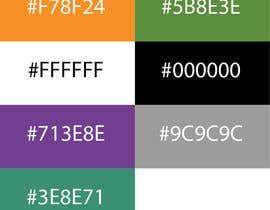 Nro 15 kilpailuun Create color pallet for our brand käyttäjältä blbridges96