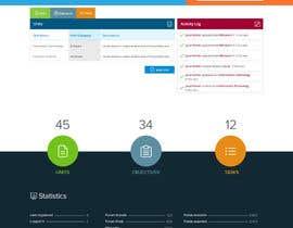 Nro 12 kilpailuun Design a 4-page Website Mockup for a Collaborative website käyttäjältä chiqueylim