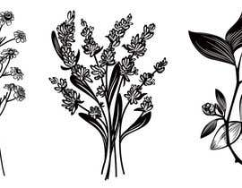 #21 para Botanical illustrations: 3 flowers for product labels por pisicasfioasa