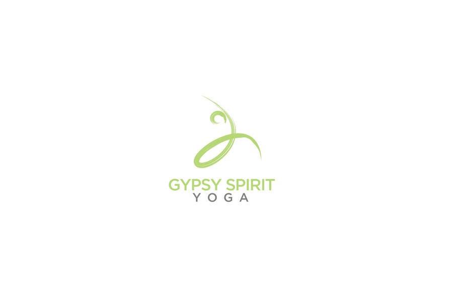 Kilpailutyö #21 kilpailussa Logo for Gypsy Spirit Yoga