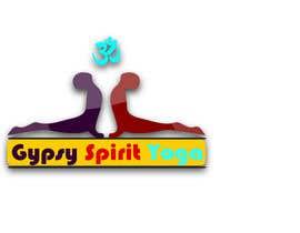 Nro 28 kilpailuun Logo for Gypsy Spirit Yoga käyttäjältä misualam