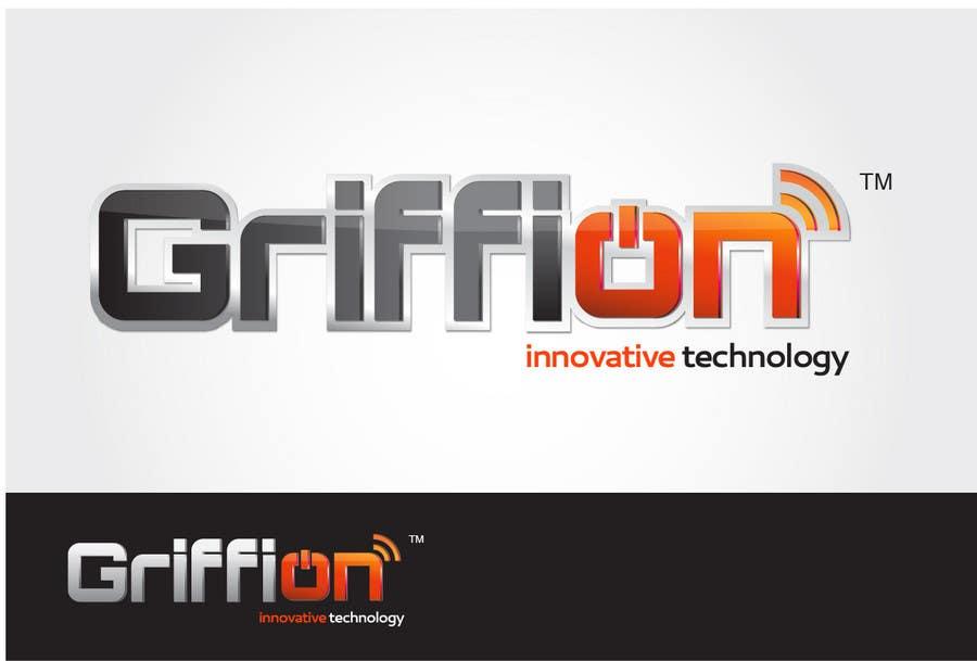 """Inscrição nº                                         411                                      do Concurso para                                         Logo Design for innovative and technology oriented company named """"GRIFFION"""""""