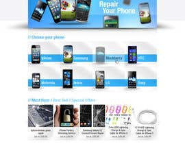 #30 untuk Website needed for cell phone repair shop oleh mhossainsujon