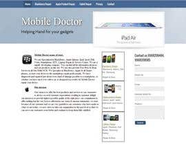 nº 44 pour Website needed for cell phone repair shop par avinashvatsya
