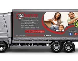 #40 untuk Box Truck Wrap Design oleh TnPRO