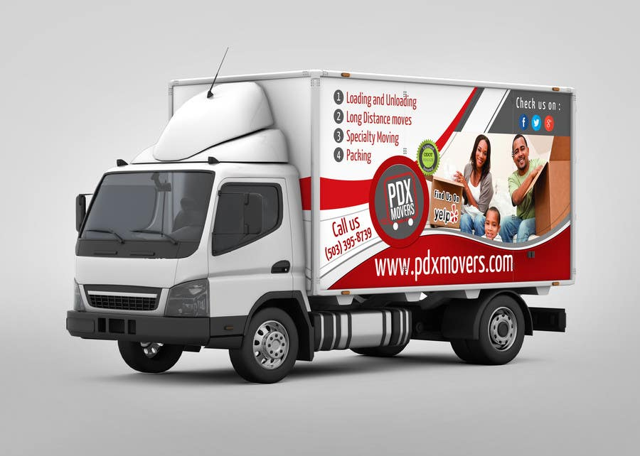 #18 for Box Truck Wrap Design by mentorsh