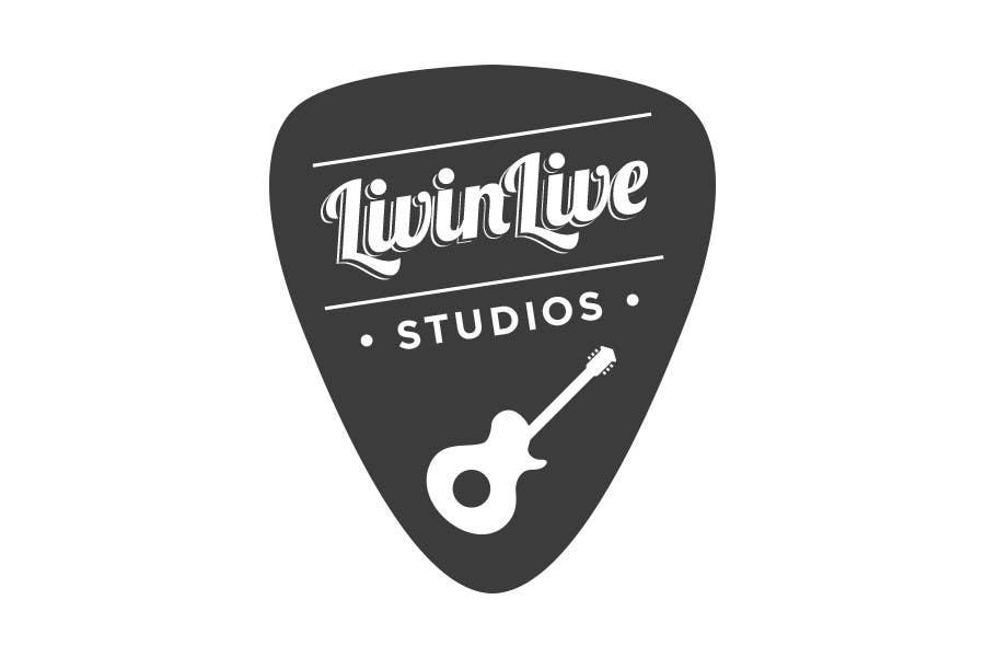 Bài tham dự cuộc thi #                                        111                                      cho                                         Design a Logo for LivinLIveStudios Musical Recording Studio