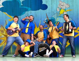 #49 para Photoshop Background for Band Publicity Photo por ERIKAMARIAG