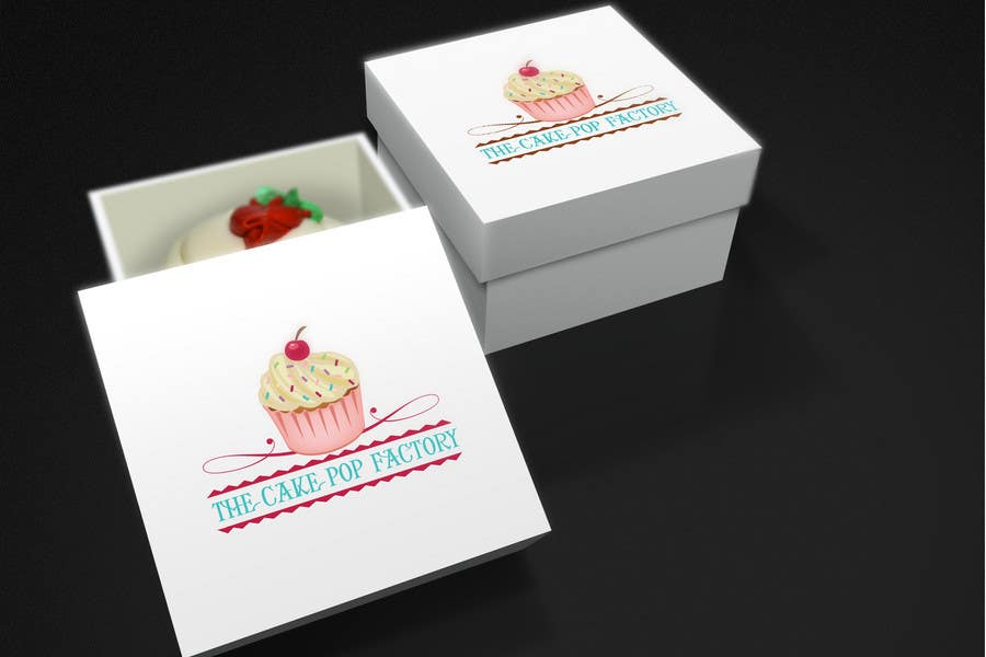 #144 for Logo Design for The Cake Pop Factory by topcoder10