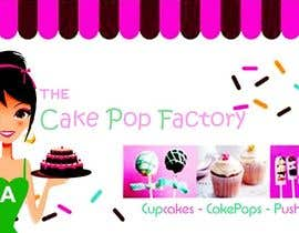 #69 for Logo Design for The Cake Pop Factory af malakark