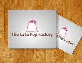 Crussader tarafından Logo Design for The Cake Pop Factory için no 65