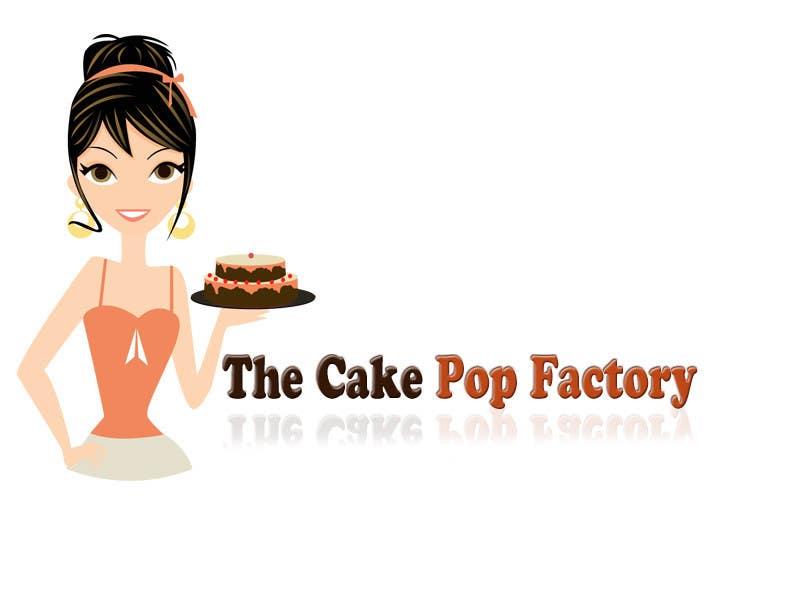 Kilpailutyö #22 kilpailussa Logo Design for The Cake Pop Factory