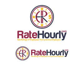 #37 cho Design a Logo for Rate Hourly bởi vladimirsozolins
