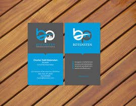 #244 cho Design Business Card for NYC Real Estate Firm bởi ezesol