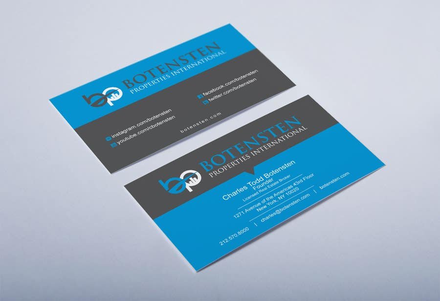 Proposition n°202 du concours Design Business Card for NYC Real Estate Firm