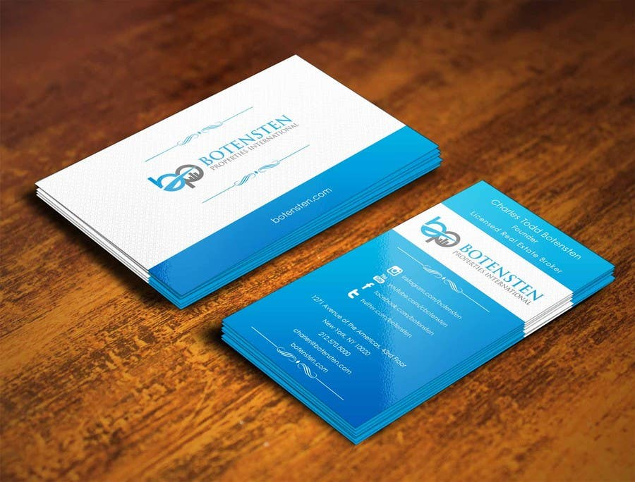 Proposition n°176 du concours Design Business Card for NYC Real Estate Firm