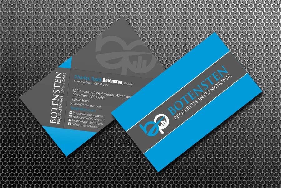 Proposition n°213 du concours Design Business Card for NYC Real Estate Firm