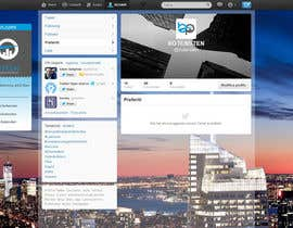 #28 cho Design Twitter Background for NYC Real Estate Firm bởi draison
