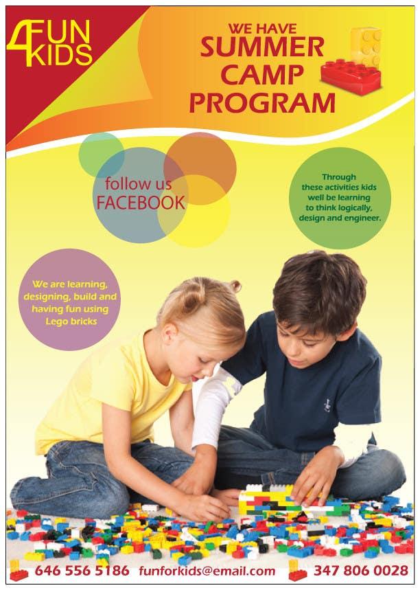 Konkurrenceindlæg #15 for Design a Flyer for Kids club