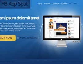nº 9 pour Wordpress Theme Design for FB App Spot par Cornerstone505