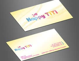 #5 para Logo and Business Card for Happy Titi (baby-sitting) por jobee